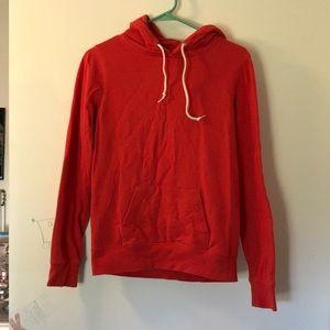 Zine red hoodie